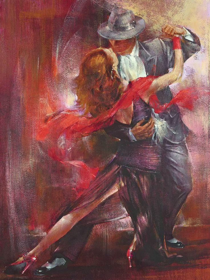 Поздравления, танго картинки красивые нарисованные