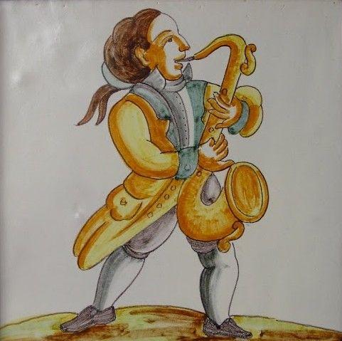 Cerámica músicos