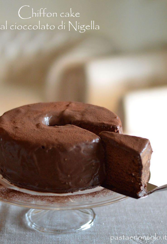 Chiffon cake al cioccolato di Nigella