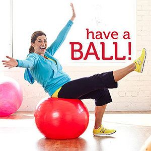 Fun Exercise-Ball Workout ~ Great Workout Routines Using An Exercis Ball.