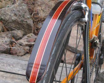 Woodys Chop Chort hinten Bambus Fahrrad von woodysfenders auf Etsy