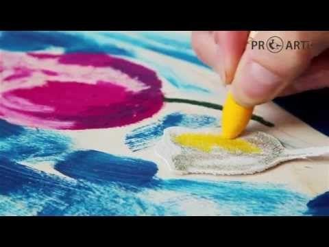 Масляная пастель Sennelier - YouTube