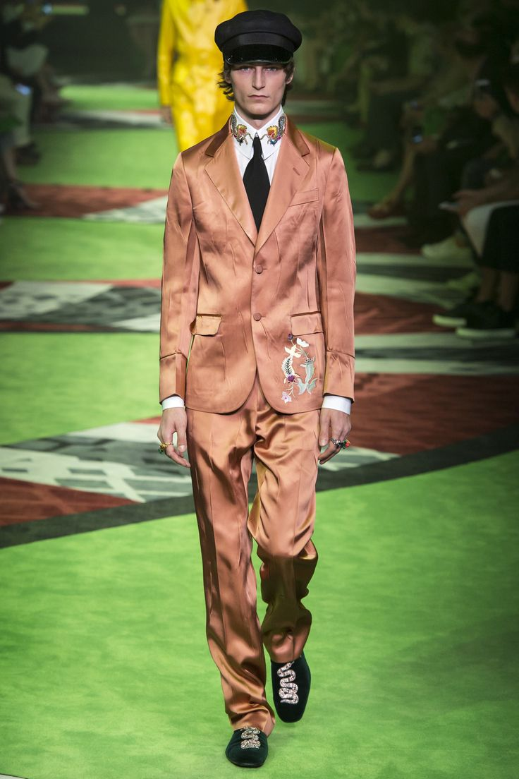 Gucci - Spring 2017 Menswear