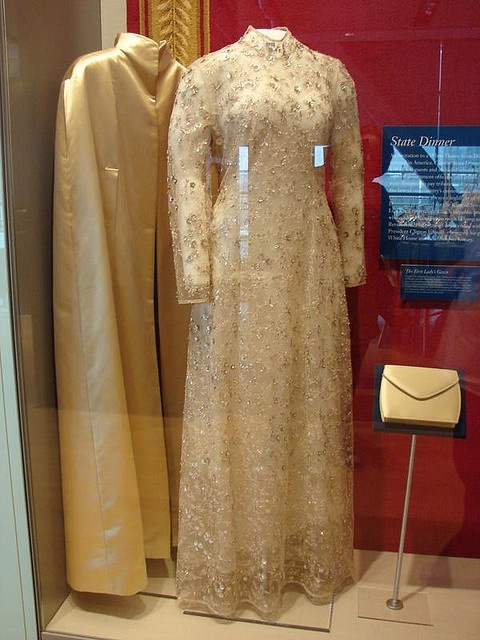 (one of) Hillary Clinton's Inaugural Gowns