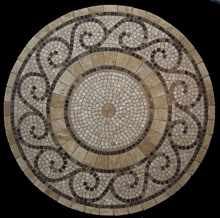 25 b sta id erna om mosaic table tops p pinterest mosaik for Mosaic coffee table designs