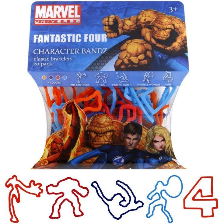 Fantastic Four - Characters Logo Bandz