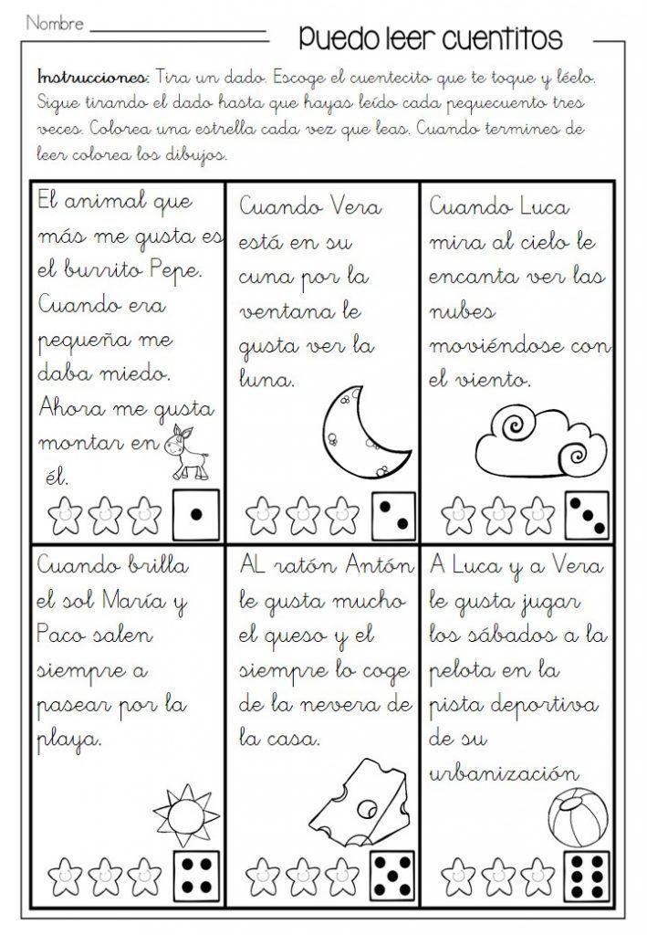Leo 25 Minicuentos En Infantil Fichas De Trabajo Lectura De Comprensión Lectura Y Escritura Lectura De Palabras