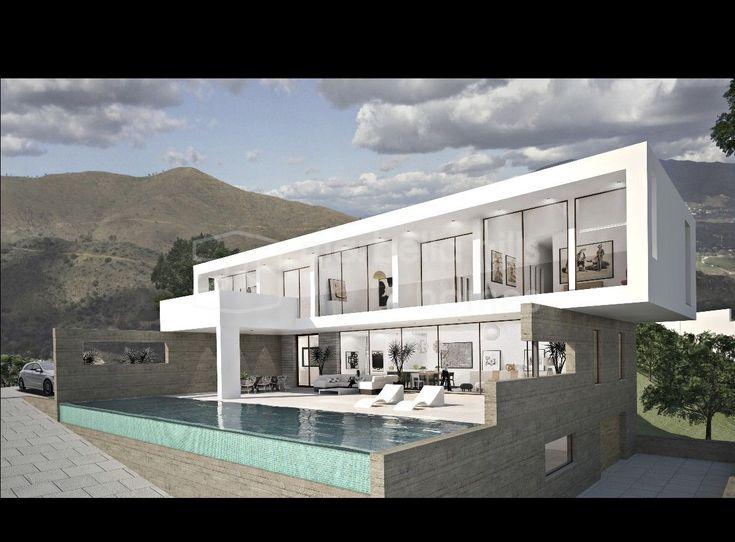 Die besten 25+ Villa Schlafzimmer Ideen auf Pinterest luxuriöse - villa wohnzimmer modern