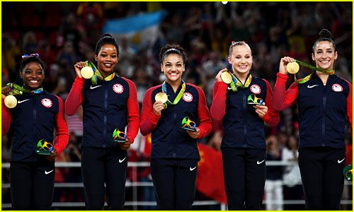 Final Five' 2016: USA Women's Gymnastics Team Picks a Name! | 2016 ...