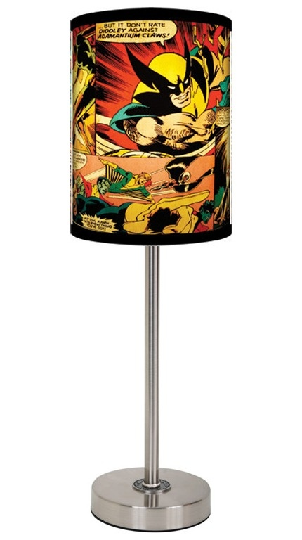 Lamp-In-A-Box X-Men Panels. Lots of other Marvel shades available