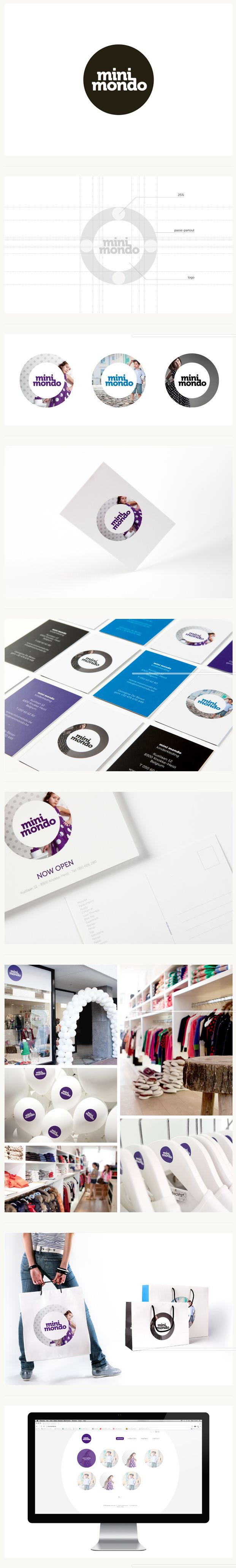 Mini mondo #identity #packaging #branding PD