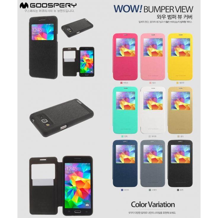 Mercury Wow Bumper Flip Case Samsung Galaxy A5 a500