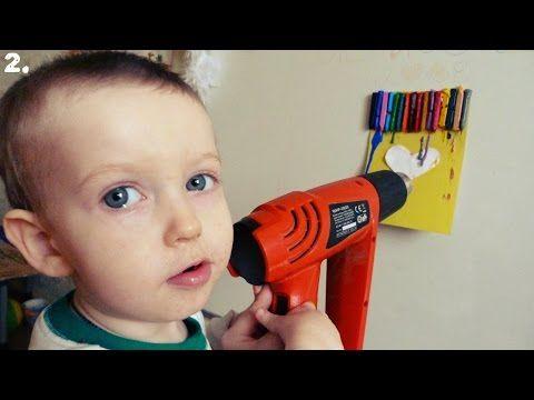 ★ Как сделать картину своими руками из восковых мелков★ DIY - YouTube