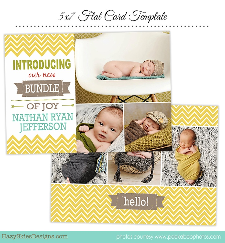 71 best Birth Announcement Templates Family Photography Templates – Birth Announcement Photoshop Template