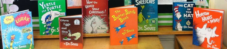 """Teaching in Room 6: Quoting Seuss """"Craft"""" she has a cute craft for quoting dr.seuss. She also has questions for some dr. Seuss books so students can discuss theme, inferences, main idea and symbolism."""