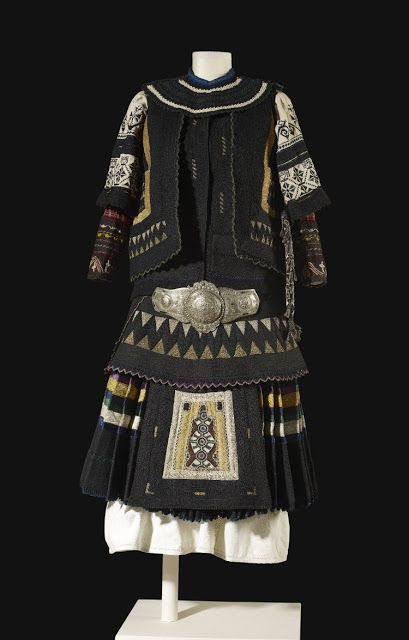 Costume of the Sarakatsani or Karakachani, Greece