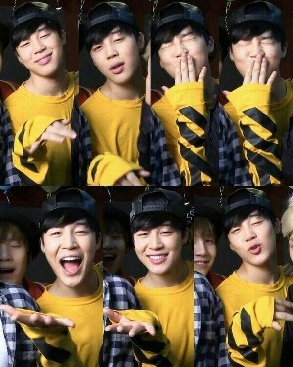 Jimin #BTS Cute!
