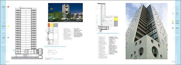 Construction details. ARONS EN GELAUFF ARCHITECTEN. Groningen. Netherlands  #housing #vivienda DENSITY SERIES Published in HoCo Density Housing Construction and Costs http://aplust.net/tienda/libros/Serie%20Densidad/HoCo%20%28Density%20Series%29/