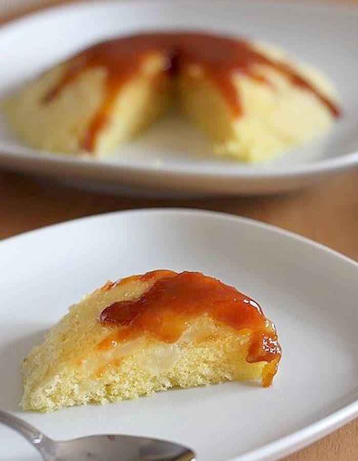 Gâteau micro-ondes pomme