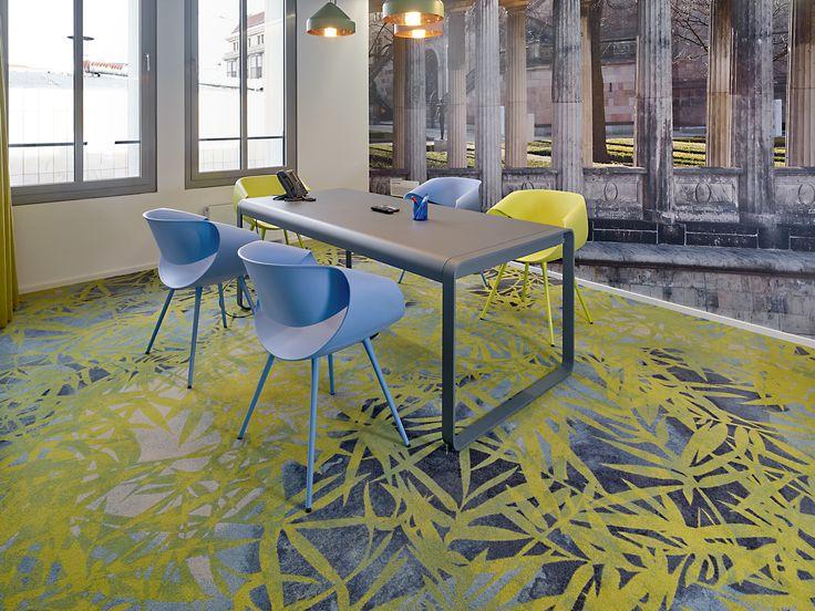 Location: Booking.com, Germany. #carpet #design #fieldsofflow #egecarpets