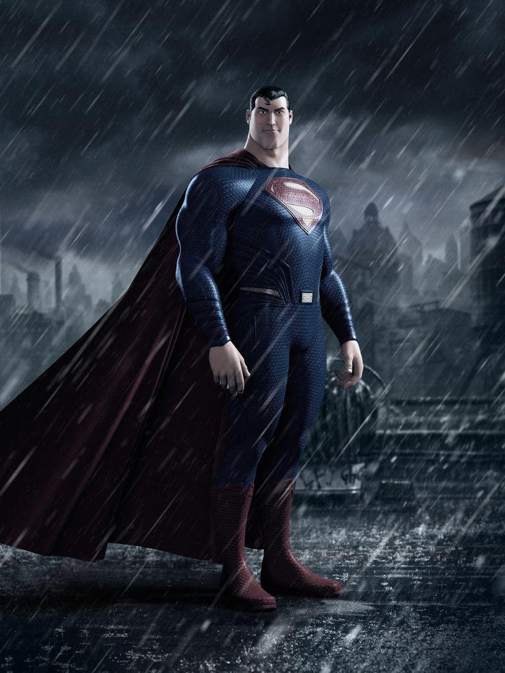 Superman by Alejandro Albarracin | Cartoon | 3D | CGSociety