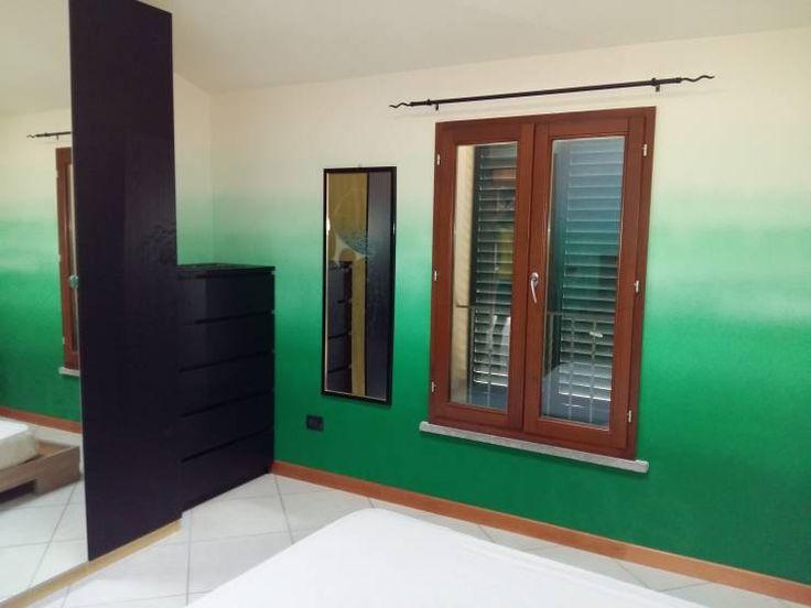 Una camera effetto natura: Camera da letto % in stile % {style} di {professional_name}