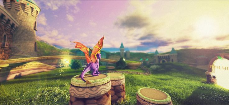 If Spyro The Dragon was remastered