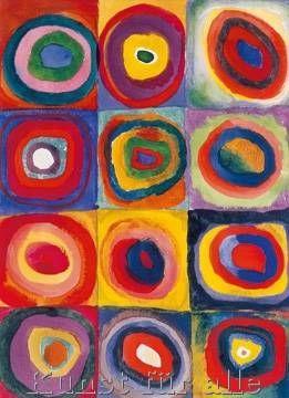 Wassily Kandinsky - Studio del colore
