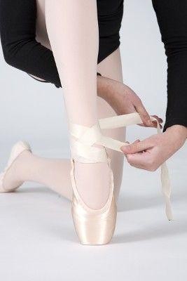 How to Tie Pointe Ballet Shoes: Wrap Other Ribbon