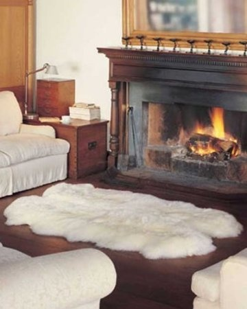 37 Best Images About Sheepskin Rug Design Ideas On