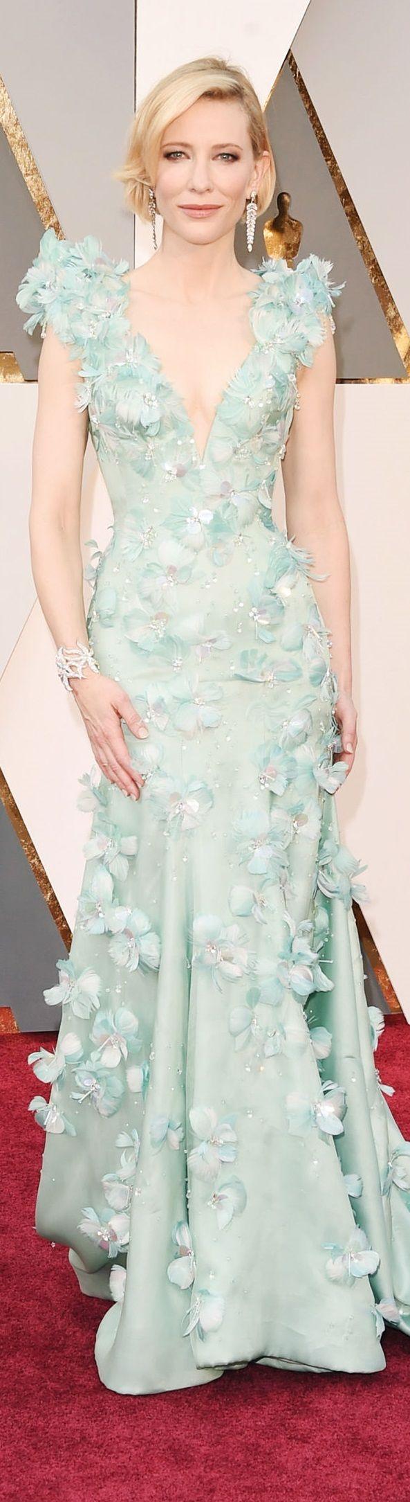 Cate Blanchett veste Armani Privé - Oscar 2016