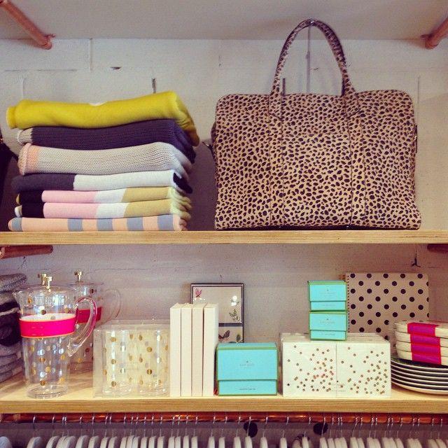 So many spots @arlingtonmilne @katespadeny @kateandkatehome #polkadot #leopardlove #thehuntedco