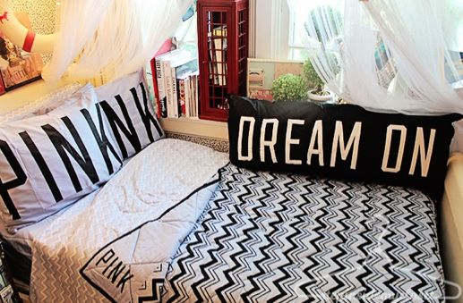 My dreams became sweeter once I revamped my bedroom with Victoria's Secret! www.stepinsidemycloset.com