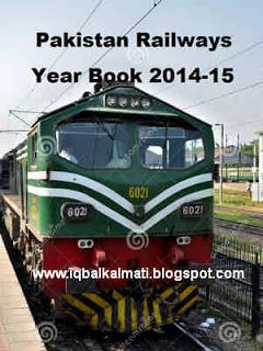 Pakistan Railways Year Book 2014-15 In PDF is available to read online and download http://iqbalkalmati.blogspot.com/2016/03/pakistan-railways-year-book-2014-15-in.html