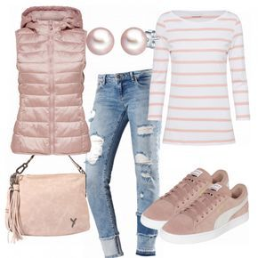 Spring outfits: Westenzeit at FrauenOutfits.de