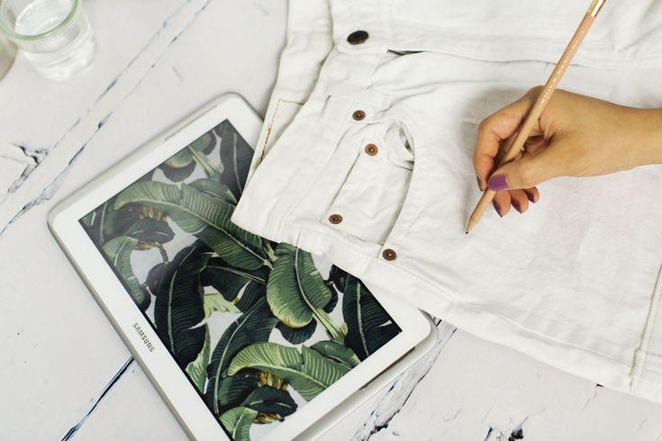 17 best ideas about denim paint on pinterest painted