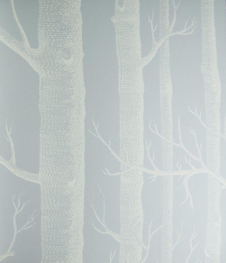 Idealna tapeta w brzozy do dziecięcej sypialni w stylu skandynawskim