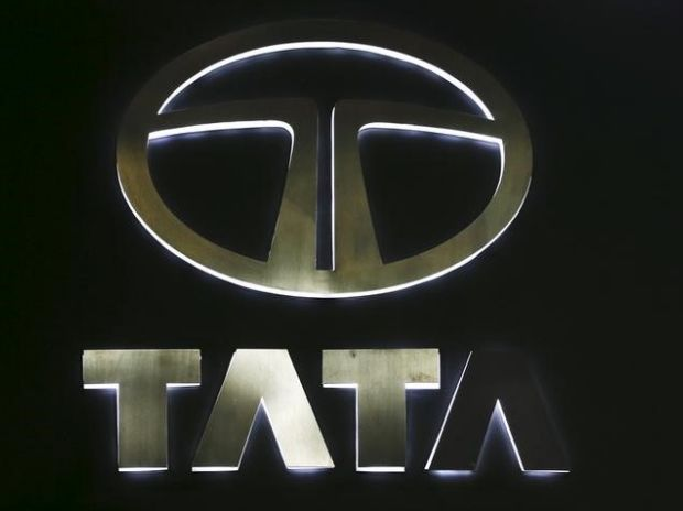 The logo of Tata Motors