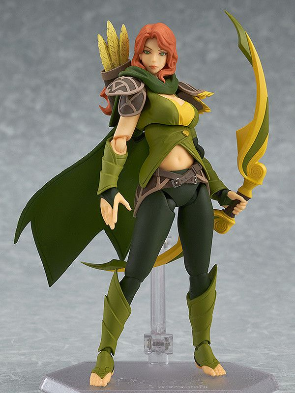 Dota 2's intelligence hero 'Windranger' is joining the figma series!From the popular game Dota 2 comes a figma of Windranger!  Using the smooth yet posable joints of figma, you can act out a variety of different scenes. A flexible plastic is used for important areas, allowing proportions to be kept without compromising posability. Her bow and arrow are both included as optional parts. ... #tokyootakumode #figure