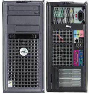 Calculatoare second hand  Dell GX745/Core2Duo 1.86G/1G/80G/DVD/Tower #calculatoaresecondhand #calculatoaresh