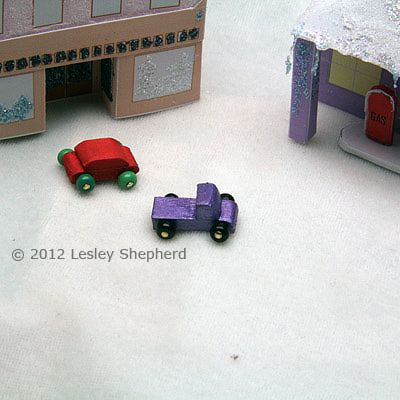 make miniature wooden toy cars and trucks for dollhouses and christmas villages bl 112 dollhouse miniature