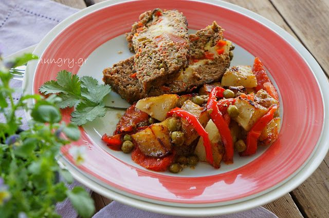 Kitchen Stories: Meatloaf with Mixed Vegetables & Cheese