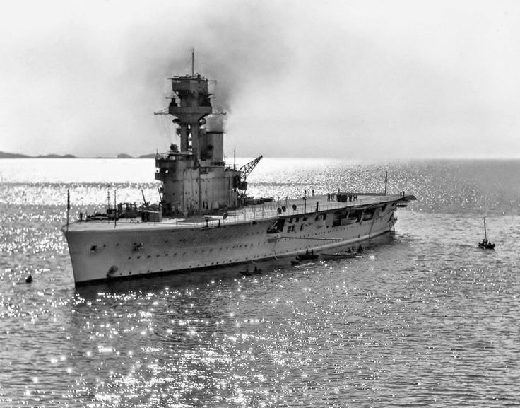 HMS Hermes was an aircraft carrier built for the Royal Navy. The ship was begun during World War I and finished after the war ended. She was the world's first ship to be designed as an aircraft carrier, although the Imperial Japanese Navy's Hōshō was the first to be commissioned and launched. Commissioned in 1924, Hermes served briefly with the Atlantic Fleet before spending the bulk of her career assigned to the Mediterranean Fleet and the China Station.