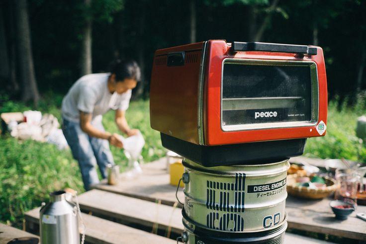 直火にONするオーブン 〜〜〜 ピーステンピ 851型  レンジトップで使うオーブン。現在は廃盤のためオークションなどでしか入手できない。 カワイイから再販希望!!