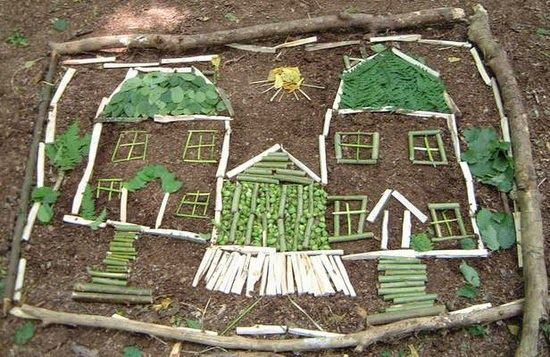 lots of ideas for kids to enjoy nature in the backyard and garden