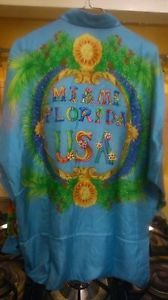 GIANNI VERSACE Vintage RARE MIAMI Silk Shirt 46 Notorious BIG Sunglasses HIP HOP - $399.00 - http://www.12pmsunglasses.com/on-sale/GIANNI-VERSACE-Rare-Vintage.html