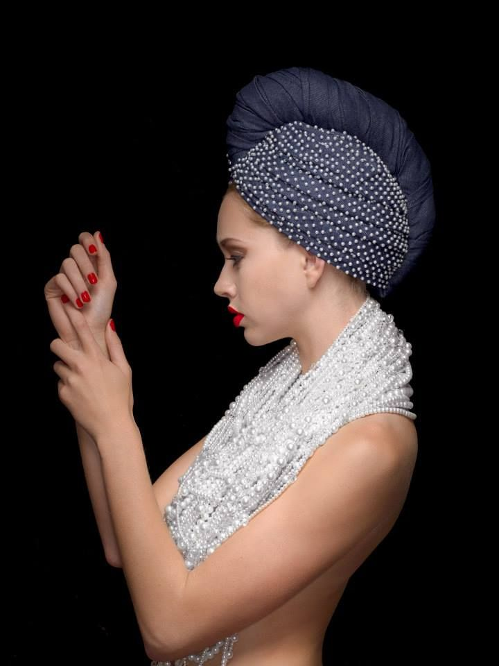 42 best Turban / Crystals & Pearls images on Pinterest   Couture ...