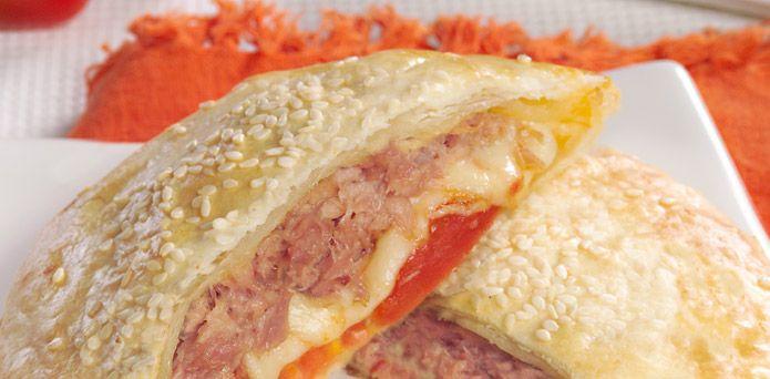 La Salteña Recetas. Sandwich de Atún.