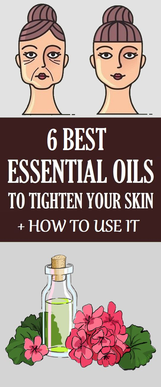 6 Greatest Important Oils To Tighten Pores and skin + How one can Use It