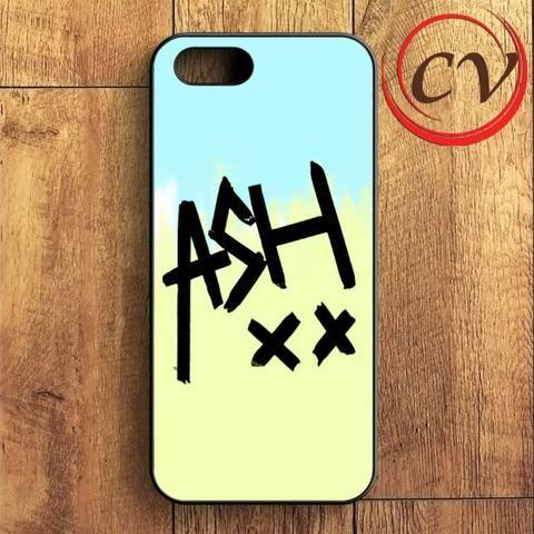 5sos Ashton Irwin Signature Color iPhone SE Case